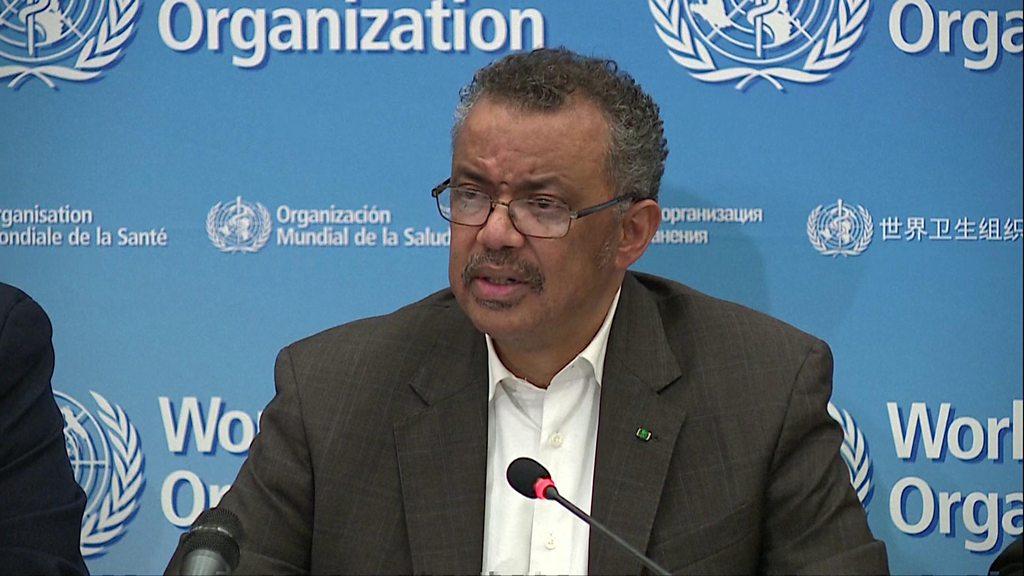 Coronavirus disease (COVID-19) Pandemic : Press conference, WHO-Geneva